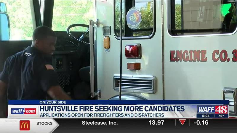 Huntsville Fire seeking more candidates