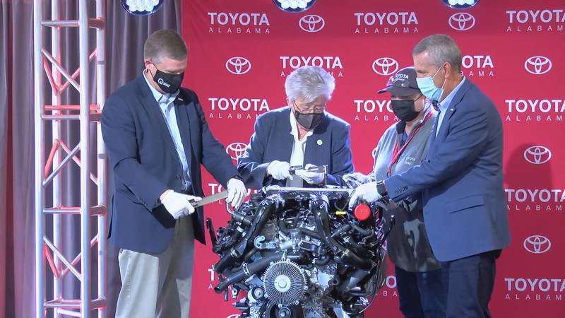 This project represents a $288 million dollar investment from Toyota and is bringing 450 jobs...