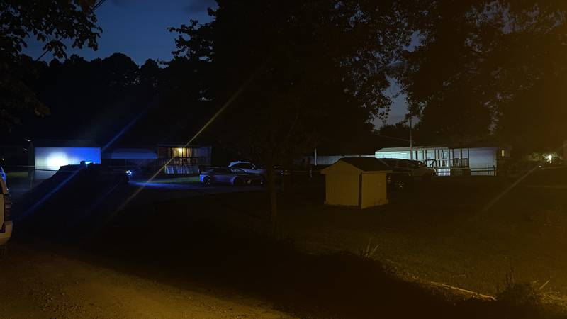 One person was killed after a shooting at an illegal gambling spot on Moores Mill Road