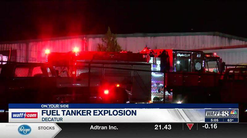 Fuel tanker explosion in Decatur