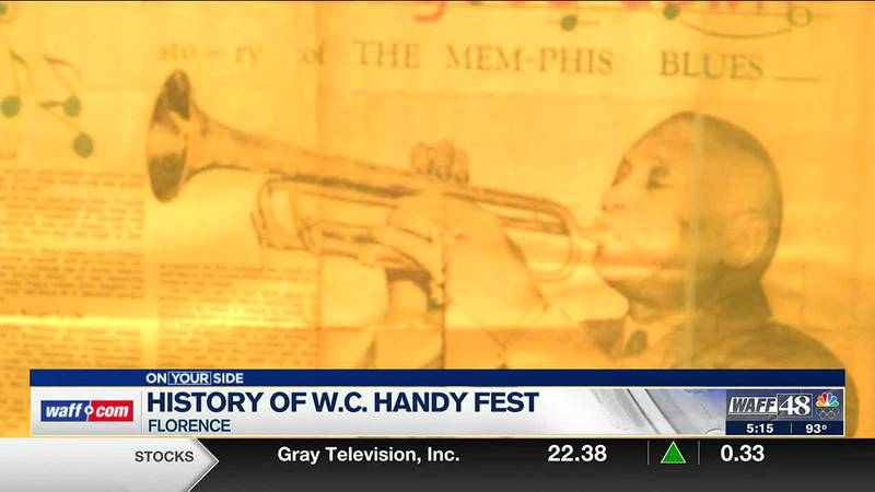 History of the W.C. Handy Fest