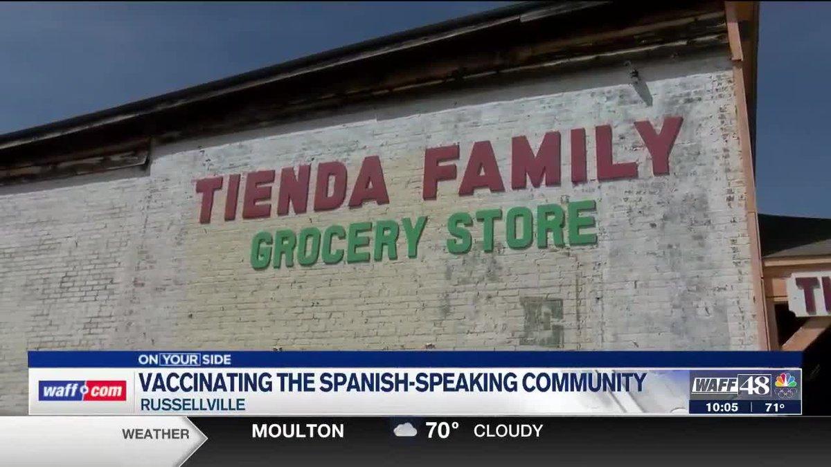 Vaccinating the Spanish-speaking community in Alabama