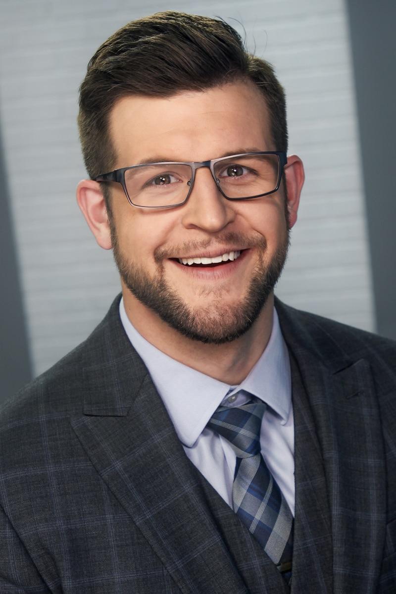 Headshot of Brandon Spinner, Meteorologist