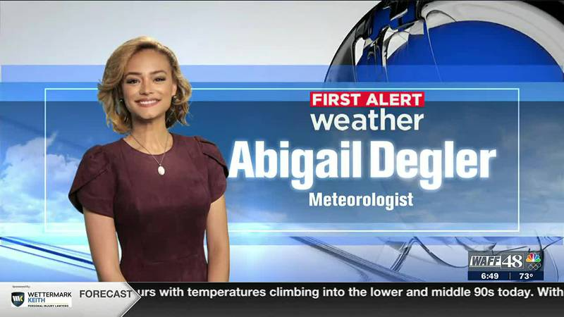 Abigail Degler shows you what to weather to expect on Wednesday