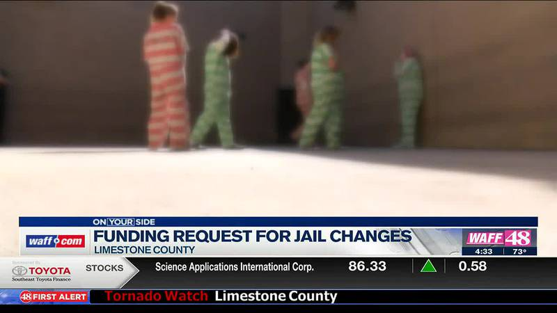 Funding request for jail changes