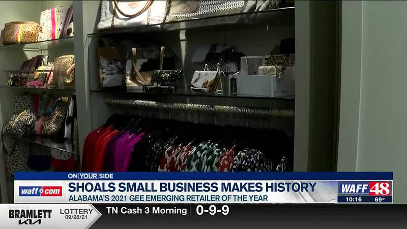 Shoals small business makes history