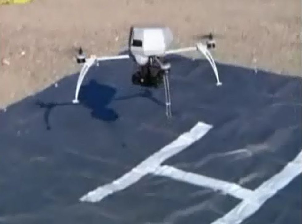 Drones have a reputation of secretly invading privacy and spying on then killing an enemy.