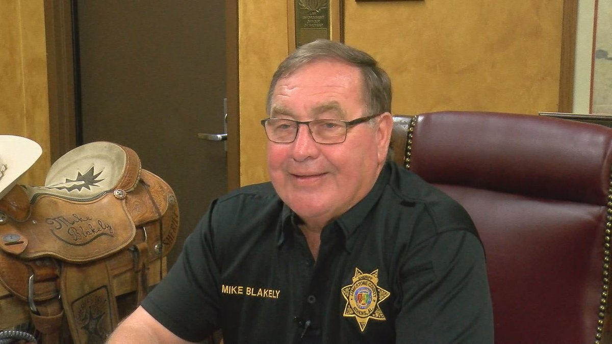 Limestone County Sheriff Mike Blakely discussed an ethics complaint against him. He gave this...