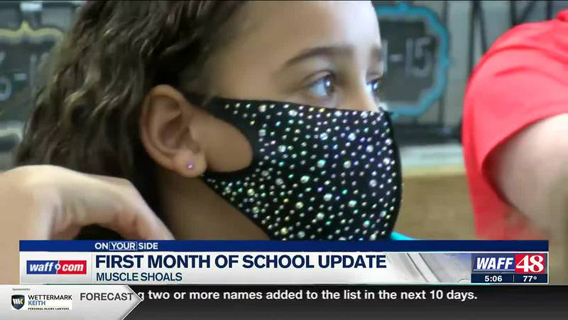 First month of school update