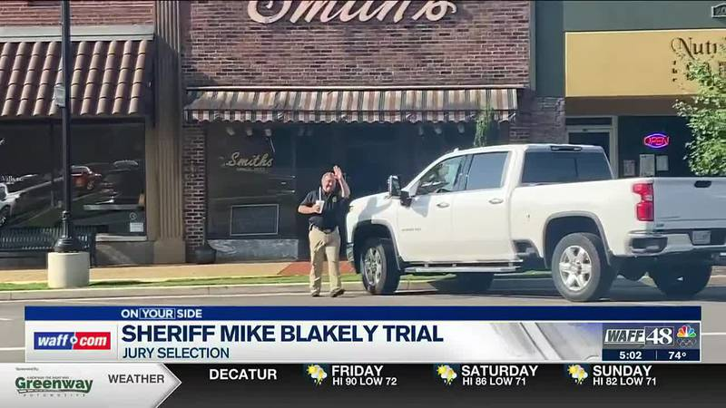 Jury expected to be seated on Friday in Blakely trial