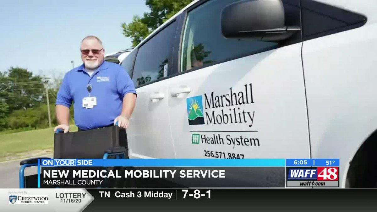 New medical mobility service in Marshall County