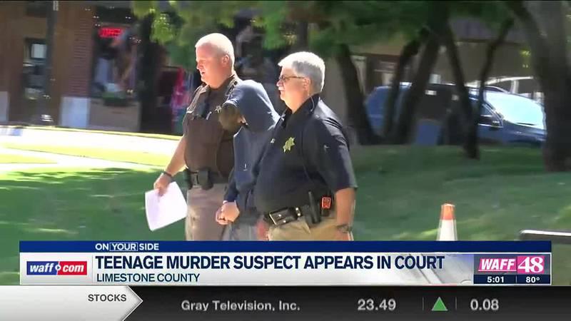 Teenage murder suspect appears in court