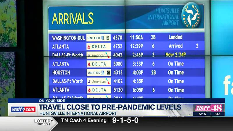 Travel close to pre-pandemic levels