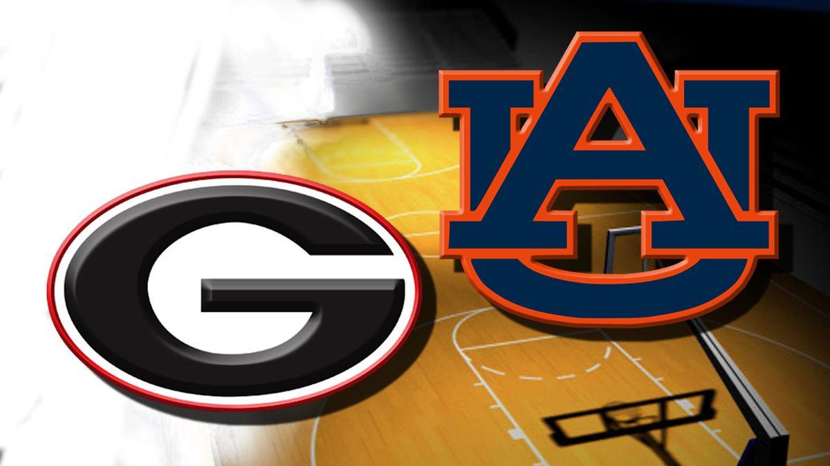 Auburn beats Georgia 95-77 for first SEC win of season
