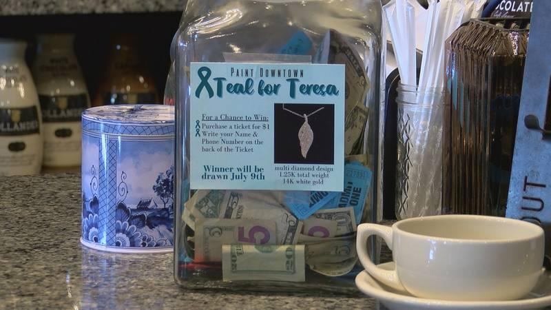 Teal for Teresa Fundraiser