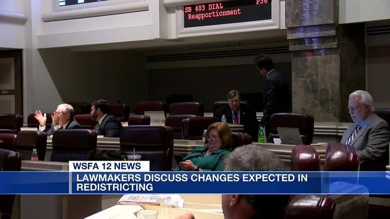 Lawmakers discuss changes expected in redistricting
