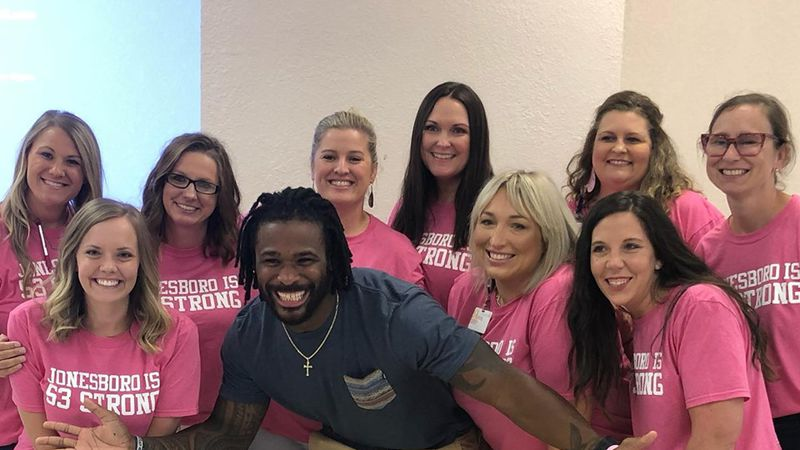 Williams helped sponsor more than 500 mammograms