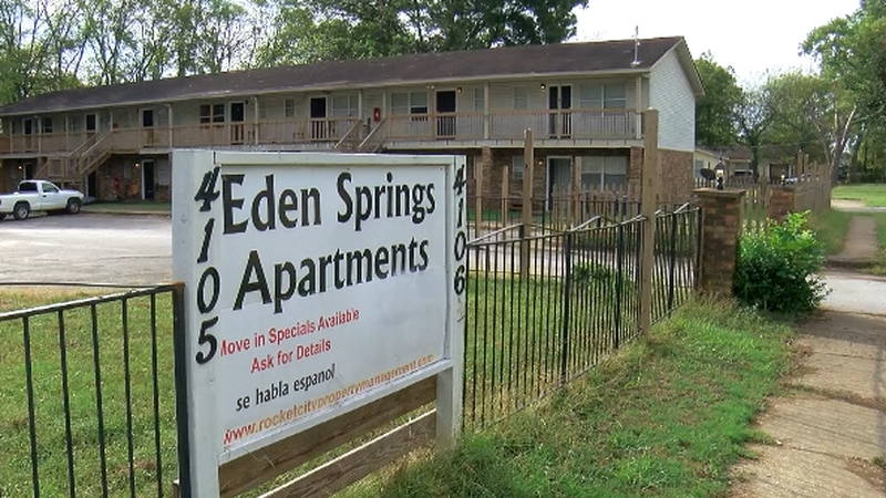 Apartment complex at the center of eviction lawsuit