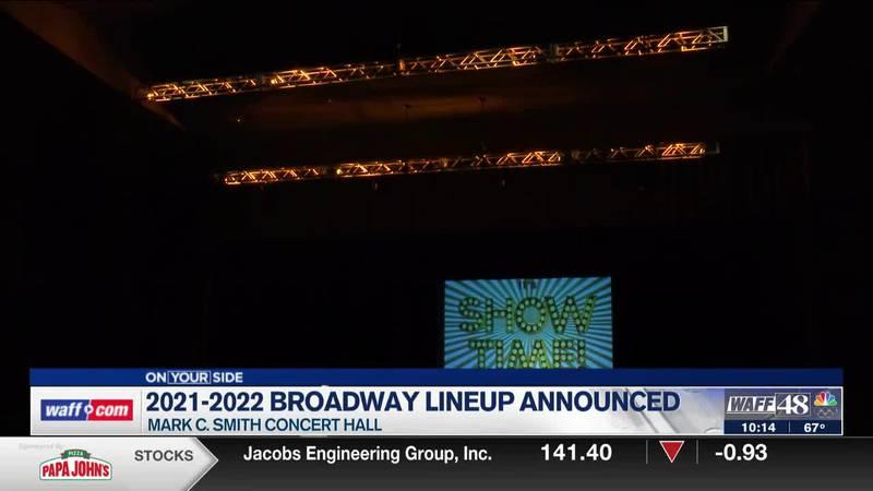 It's Show Time! Broadway Theatre League announces stops in Huntsville
