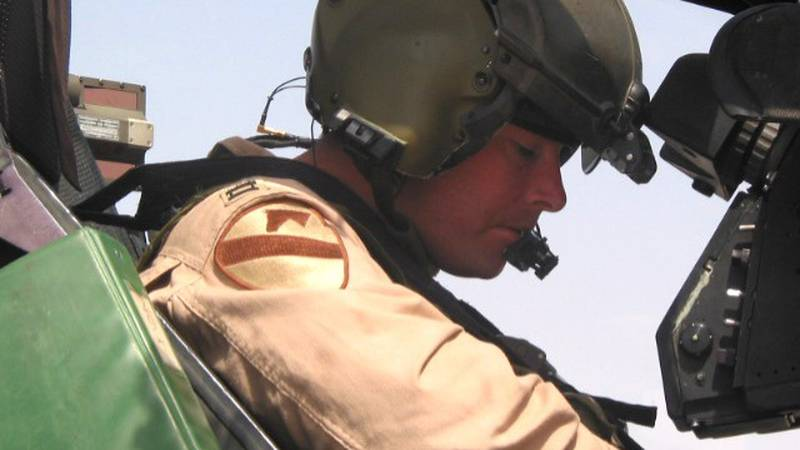 Retired Col. Michael Williams spent 28 years in the military as an Apache helicopter pilot.