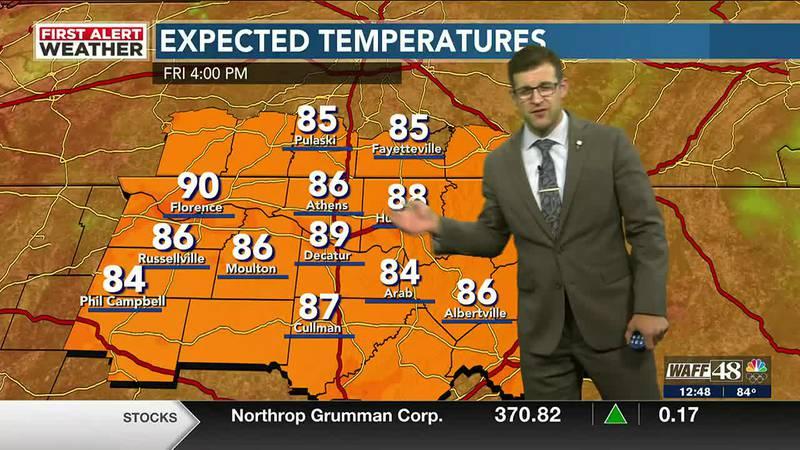 WAFF's Thursday forecast - noon