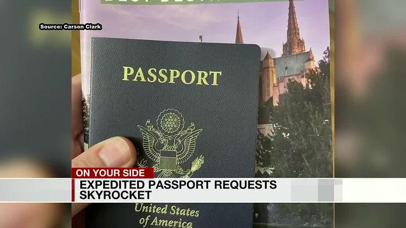 Expedited passport requests skyrocket