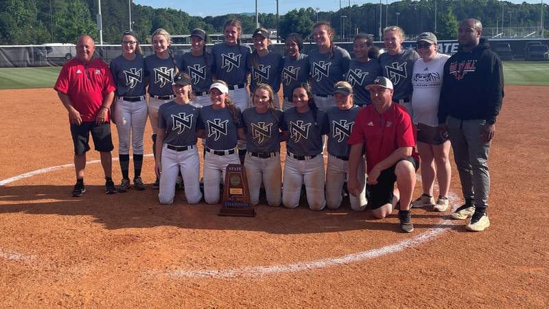 North Jackson celebrates state championship win