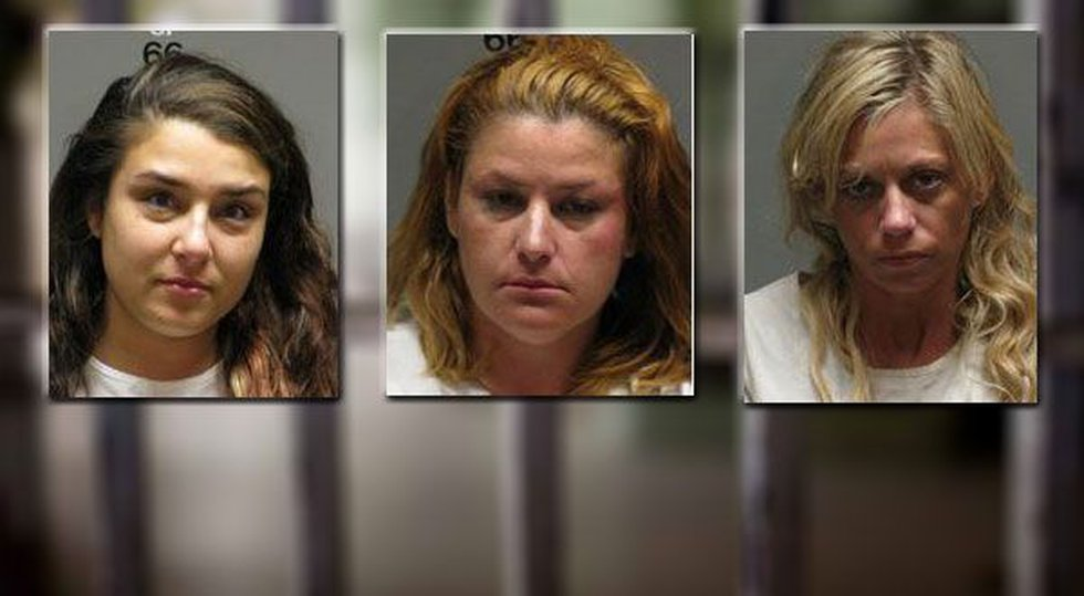 Bailey Justice, Gladys Rodriguez and Emily Young (Source: Winston Co. Sheriff's Office)