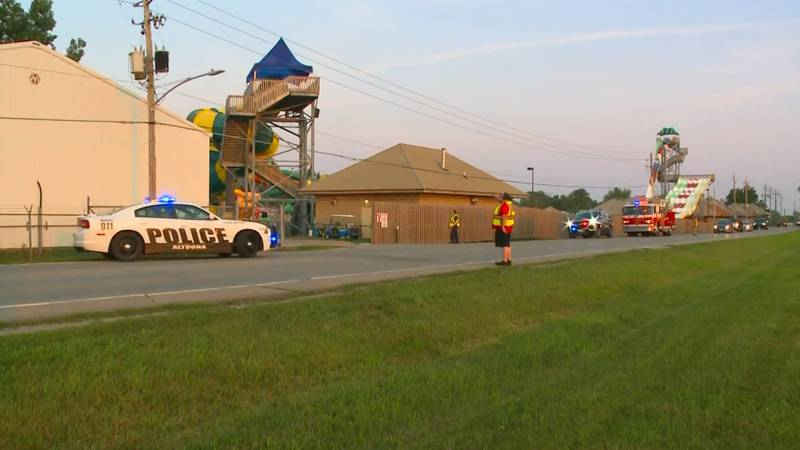 Adventureland Park said on its Facebook page that a person had died after an accident on one of...