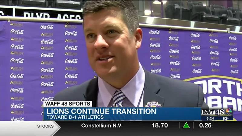Lions continue transition toward D1 athletics