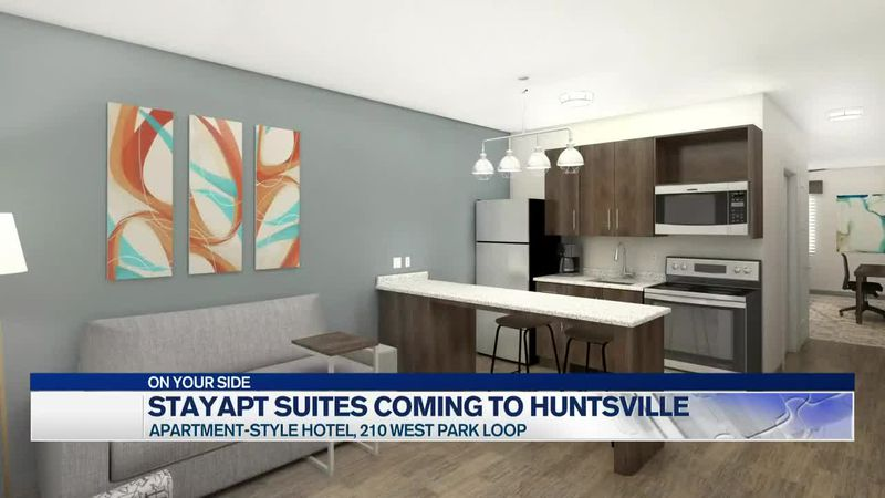 stayAPT Suites, extended-stay hotel brand coming to Huntsville