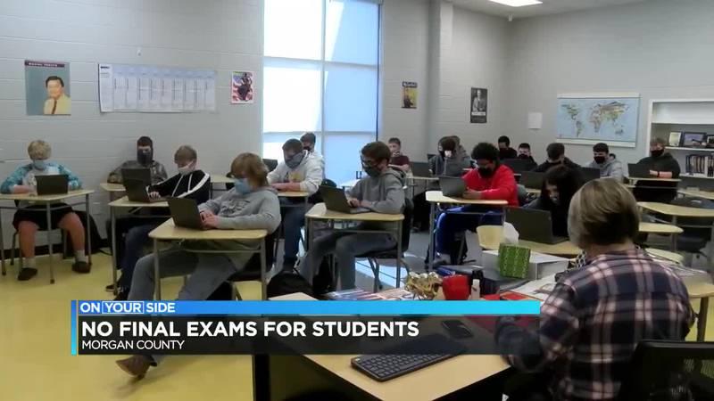 Morgan County final exams