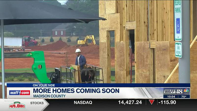 More homes coming to Madison County