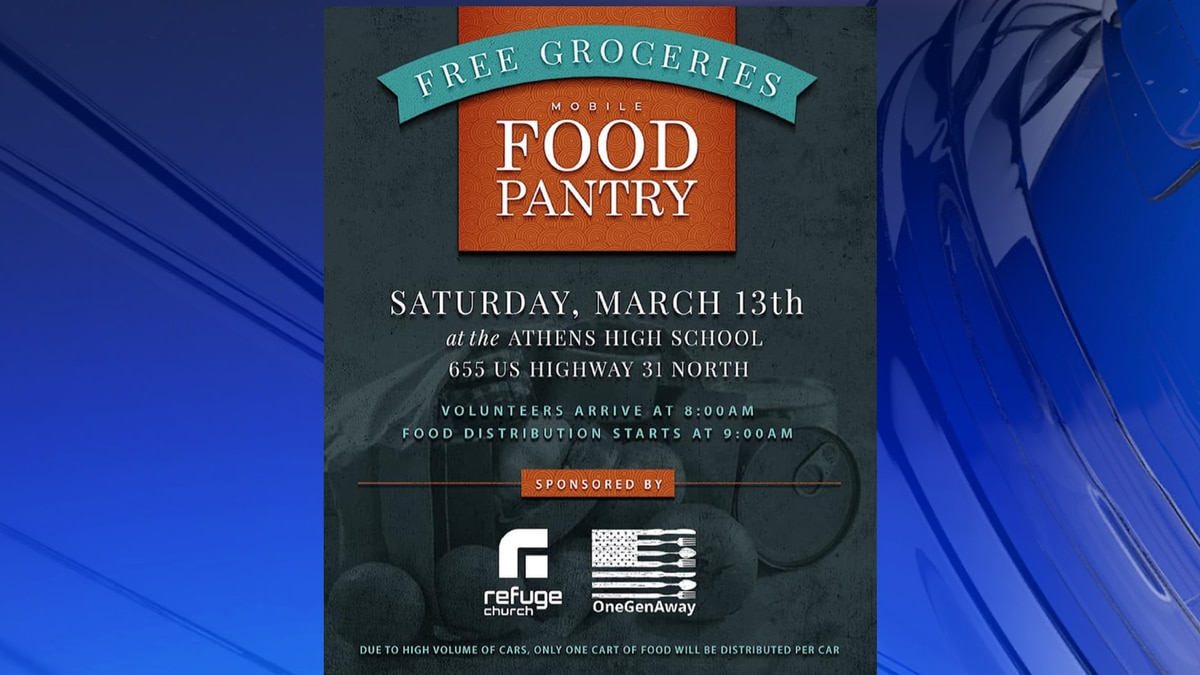 Refuge Church is partnering with One Gen Away to give away 40,000 pounds of groceries to the...