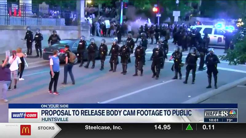 Proposal to release police body cam footage to the public