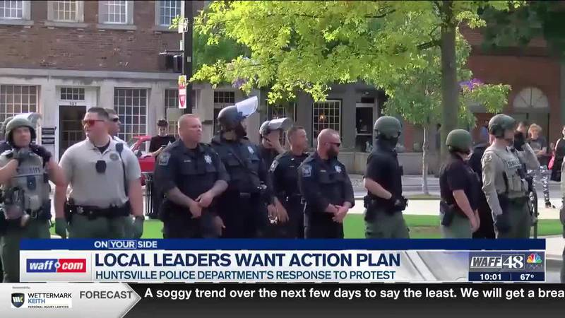 Huntsville City Council members say they want to see an action plan from HPD