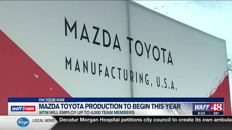 Mazda Toyota production to begin this year