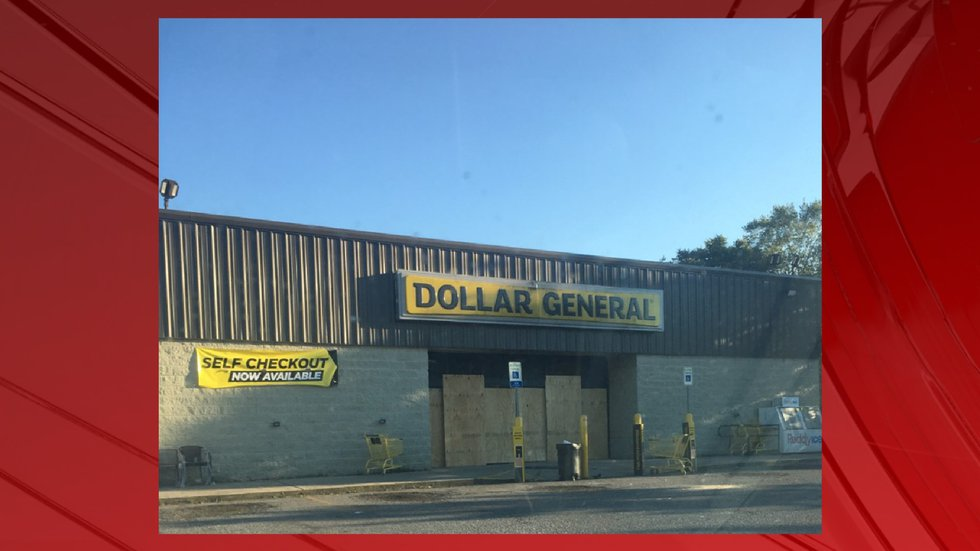The Dollar General at 1604 Winchester Rd. on Sunday.