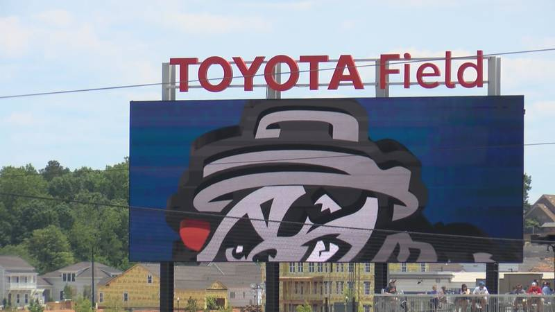 The next Trash Pandas pitch won't be thrown here at Toyota Field until April 12th.