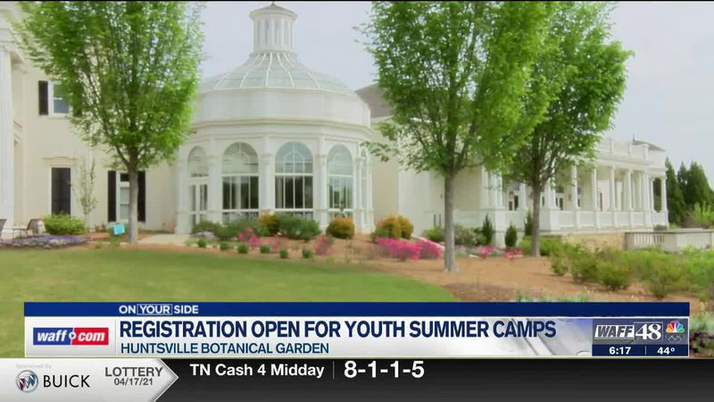 Huntsville Botanical Garden Youth Summer Camps