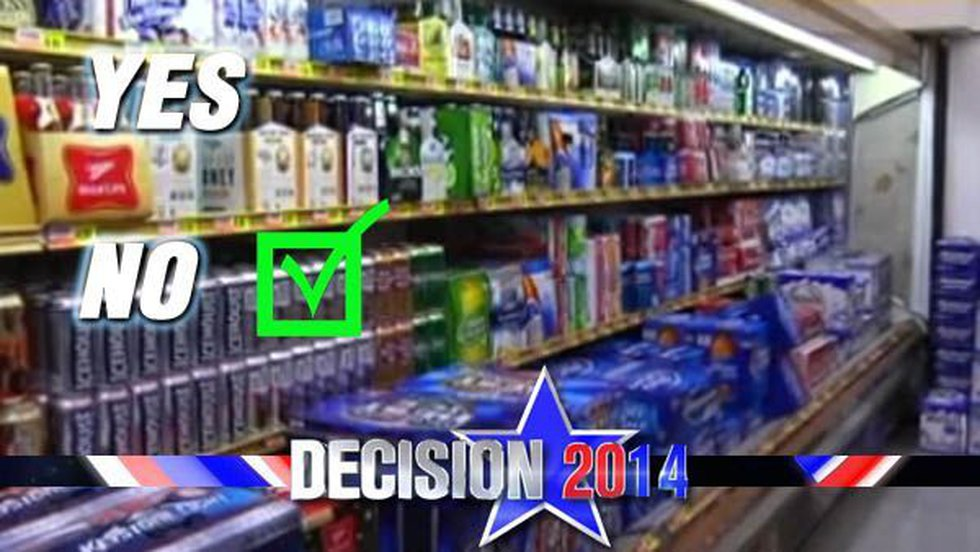 A majority of voters once again decided not to allow alcohol sales in Hartselle. (Source: WAFF)