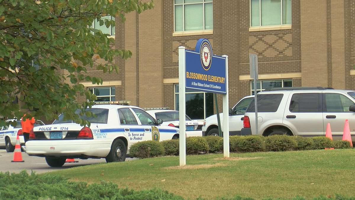 Police said a second-grader was accidentally shot in the hand at Blossomwood Elementary School...