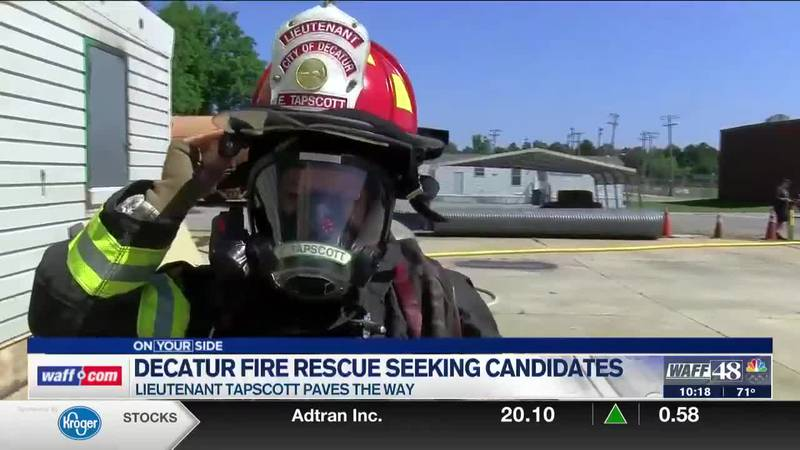 Decatur Fire Rescue faces low applicant turnout, especially when it comes to women