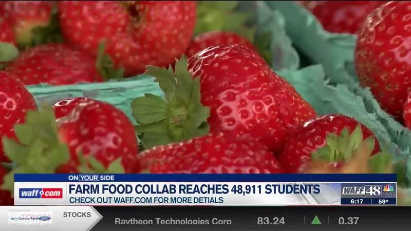 Farm Food Collaborative reaches more than 48,000 North Alabama students