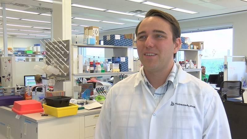 HudsonAlpha scientist Nick Cochran got a grant to study Alzheimer's.