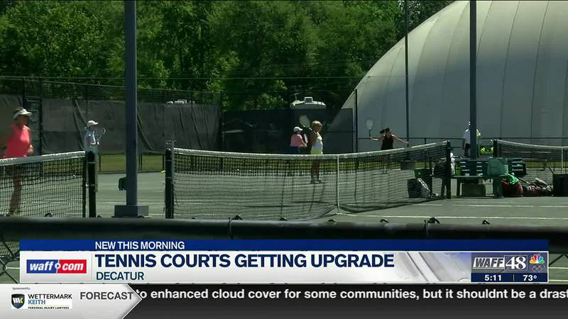 Decatur tennis courts to get an upgrade