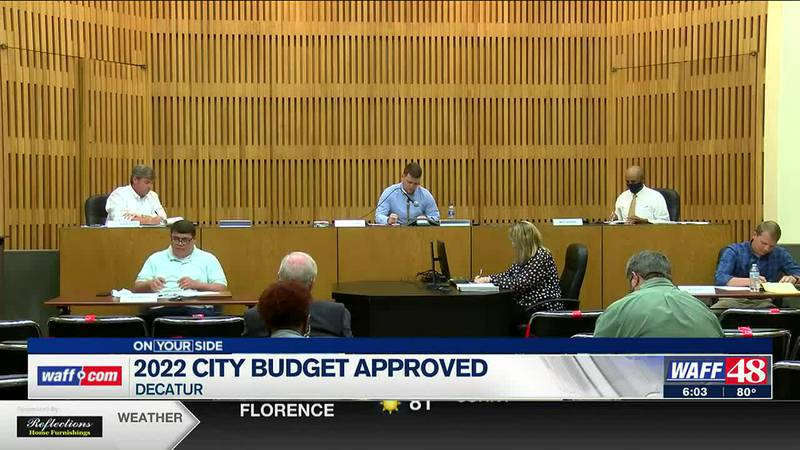 2022 city budget approved