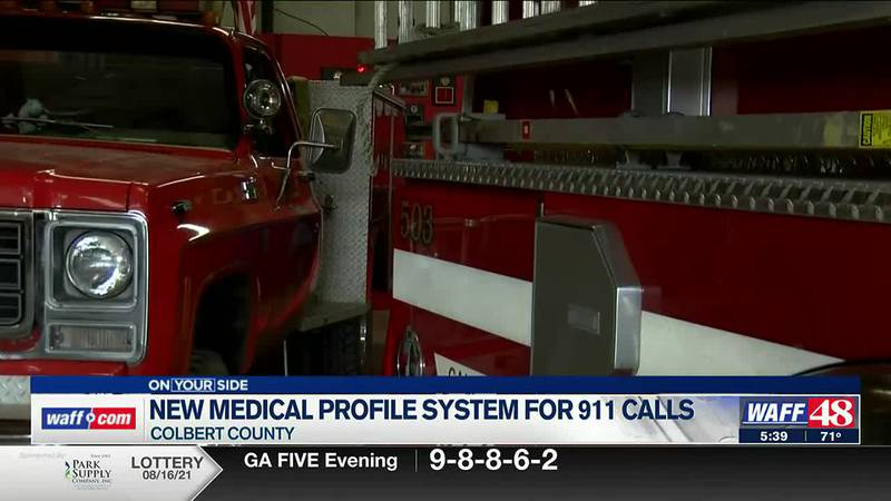New medical profile system in Colbert County