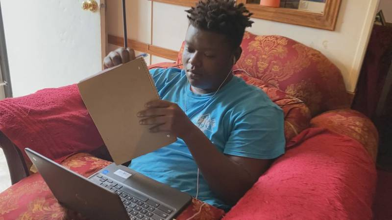 An Alabama couple is paying for internet so kids can learn from home.