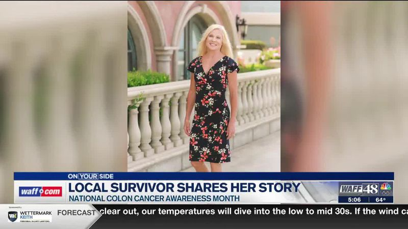 Local survivor shares her story during National Colon Cancer Awareness Month